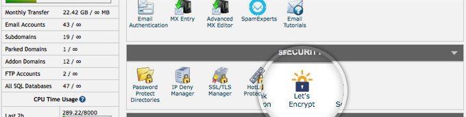 SiteGround SSL cPanel
